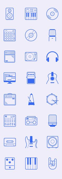 In The Studio 24 Free Icons .AI