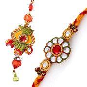 for bhaiya bhabhi with crystal works Raksha Bandhan Gifts, Rakhi, Crystals, Jewelry, Jewlery, Jewerly, Schmuck, Crystal, Jewels