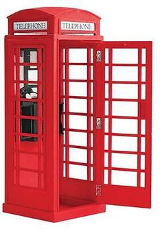 Wooden 2595: New Latina London Telephone Box 20320 -> BUY IT NOW ONLY: $37.99 on eBay!