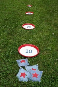 The Great American Toss-Off   11 Last-Minute Fourth Of July DIY Projects For The Whole Family