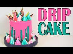 Drip Cake de chocolate | Aprende a decorar este cake de colores vivos