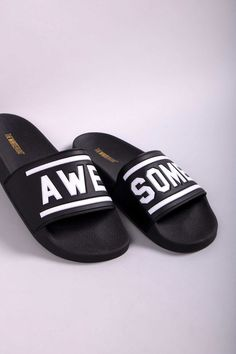 93123019002b AWESOME 3D BLACK - TheWhiteBrand SS 18 New Collection. Women s flat slide  sandal in