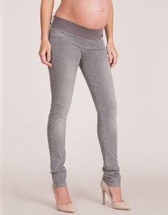Skinny Grey Maternity Jeans | Seraphine