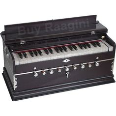 Harmonium Dark Wood Color 9 Stop (PDI-DC) by buyRaagini.com. $289.00. Harmonium is an Indian musical instrument that resembles reed organ. The Harmonium is a small, manually-pumped musical instrument that uses fixed reeds for creating basic sounds.  Harmoniums consist of (reed banks) metal bands which vibrate when air flows over them, a pumping apparatus, stops for drones, and the keyboard. There are two types of harmonium: a foot-pumped version, and a hand-pumpe...