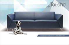 TOUCHÉ advertisement in Dutch magazines VTwonen + Eigen Huis  Interieur + Elle Wonen (January 2014 - June 2014) Furniture Ads, Sofas, Couch, Advertising, Chairs, Design, Home Decor, Homemade Home Decor, Sofa