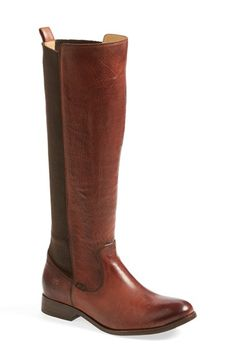 Frye 'Molly' Gore Leather Boot. The gore would accommodate my curvaceous calf!