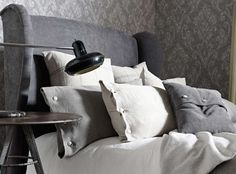The look and handle of beautiful Japanese Kimonos has been realised in this diverse group of woven fabrics. The combination of trend-setting 'washed' colourations and oriental minimalism creates a collection that is both fashionable and original.   Textured Weaves Soft Natural Fabrics, Wallcoverings