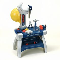 Bosch Junior Workbench by Theo Klein, Multicolor