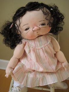 "Jan Shackelford ""Small World Far Away Nursery"" Convention baby ""Veronika"""