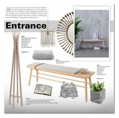 """""""Entrance"""" by cruzeirodotejo ❤ liked on Polyvore featuring interior, interiors, interior design, home, home decor, interior decorating, Bloomingville, House Doctor, Belle Epoque and Guide London"""