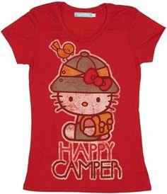 Hello Kitty Happy Camper Baby Tee