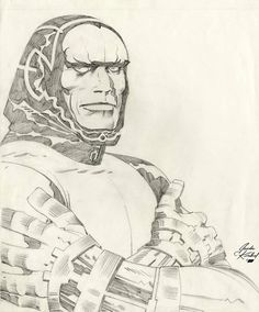 Image result for jack kirby pencils