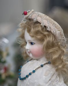 "14 1/2"" (37 cm) Very Beautiful Antique French Bisque Doll by Barrois from respectfulbear on Ruby Lane"