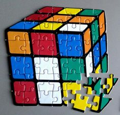 However this website is mainly dedicated to twisty puzzles, we thought it would be welcome to devote an article to the jigsaw puzzle. This tiling puzzle has got Rubix Cube Games, Lego Custom Minifigures, Free Online Jigsaw Puzzles, Cube Puzzle, Art Drawings For Kids, Optical Illusions, Geek Stuff, Cuba, Rubik's Cube