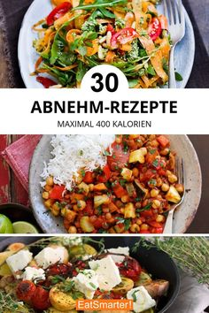 Die 30 besten Abnehm-Rezepte - Leckere Rezepte zum Kochen und Backen - The 30 best weight loss recipes with a maximum of 400 calories. Menu Dieta Paleo, Paleo Diet, Diet Foods, Pcos Diet, Clean Eating Diet, Clean Eating Recipes, Healthy Eating, Weight Loss Meals, Diets For Beginners