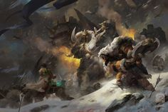 """""""Rise of The Frostwolf Clan"""" by 6kart // DeviantART.com"""