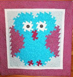 Hoo's Twisted Owl Quilt Pattern by Simply Twisted Designs