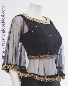 Readymade saree blouse online USA Premium range of blouses, croptops, handwork blouses which can be mixed and matched with variety of Sarees and lehengas . Lengha Blouse Designs, Stylish Blouse Design, Choli Designs, Sari Blouse Designs, Designer Blouse Patterns, Fancy Blouse Designs, Designs For Dresses, Poncho Style, Make Up Studio