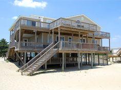 Sandbridge Beach - Oceanfront Vacation Home / Siebert Realty / Virginia Beach, VA  - Atlantis - 2764 Sandfiddler Road