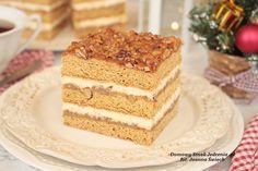 świąteczne ciasto krówka | Domowy Smak Jedzenia .pl