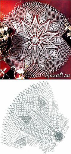 Free Crochet Doily Patterns, Crochet Doily Diagram, Crochet Circles, Filet Crochet, Crochet Motif, Crochet Doilies, Spiral Crochet, Crochet Squares, Crochet Beach Bags