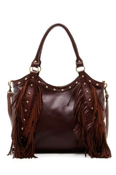 Raj Nikki Stud Fringe Shoulder Bag by RAJ on @nordstrom_rack