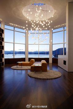 The luxury living room