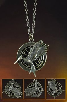 A new Catching Fire necklace that has a secret quote inside! Every revolution begins with a spark