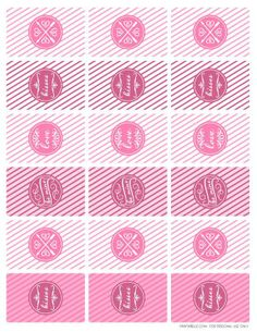 Love hugs kisses valentine s day printable collection for Free mini candy bar wrapper template