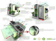 Verdant Vending: Exceptionally Eco-Friendly Outdoor Kiosk