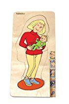 Beleduc 17024 - Lagen - Puzzle Mutter