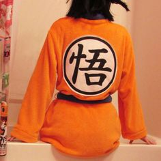 Dragon Ball Z fans can now become Goku 24-7 in this super comfortable and fuzzy bath robe. Made from super soft fleece, this robe will be sized to fit you and you can even request to have your own unique patchwork!