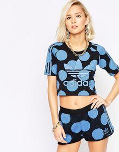 adidas Pharrell Dear Baes Crop T-Shirt