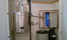 How To Install Water Softener ►Turn off water supply at main. ►Drain water lines. ►Make proper connections (Optional: install remote bypass) ►Fill brine tank half-full with salt. ►Ensure bypass is shut, slowly turn on water, check for leaks. ►Complete start-up procedure. If you need more help visit- http://savingplumbing.ca/ or call at +1 (647)932-7176