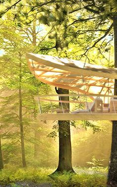 3 | These Amazing Hanging Hotel Rooms Let Guests Camp In Trees | Co.Exist | ideas + impact