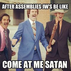 Oh yes! This is the EXACT feeling! COME AT MEH SATAN! HADOUKEN!
