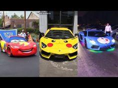 (53) Hội Dân Tiktok Mê Xe_Tổng Hợp Những Chiếc Lamborghini Độc Lạ - YouTube