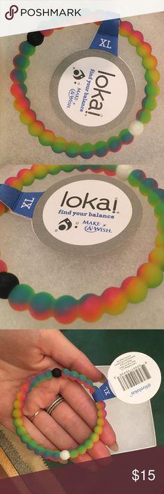 Rainbow Lokai bracelet Rainbow Lokai size XL brand new with tags attached Lokai Jewelry Bracelets