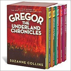 If you like The Hunger Games, you should read this earlier series by Suzanne Collins