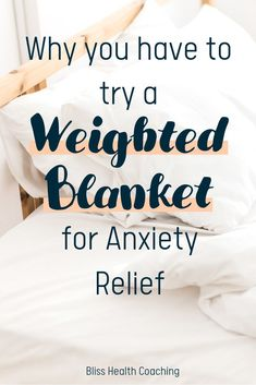 Have you tried a weighted blanket? Using deep pressure touch, they increase melatonin and serotonin and relax your nervous system. #weightedblanket