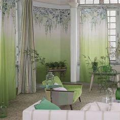 summer palace - grass wallpaper | Designers Guild