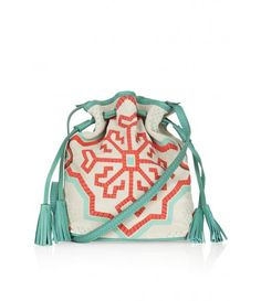 Cute Topshop Folk Suede Duffel Bag
