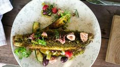 Almost too pretty to eat. Delicious Sole at Bertus Basson's Spice Route restaurant South Africa, Cape, Spices, Mexican, Restaurant, Drink, Ethnic Recipes, Pretty, Food
