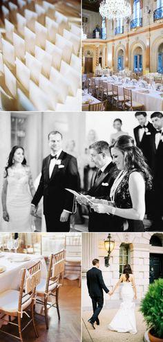 Glamorous Washington DC Ballroom Wedding - Style Me Pretty