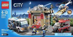 LEGO City_60008_Museum Break-in_563 pcs/pzs_Brand New Sealed Set #LEGO
