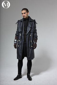 Future of men's fashion // dystopian