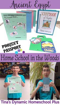 Ancient Egypt Unit Study @ Tina's Dynamic Homeschool Plus