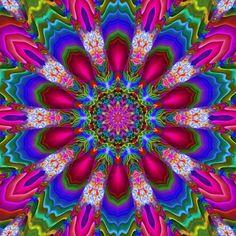 This is a computer rendered kaleidscope I made using Gimp (Linux version). Mandala Art, Mandala Design, Kaleidoscope Images, Beautiful Flowers Wallpapers, Phone Screen Wallpaper, Jewel Tones, Fractal Art, Sacred Geometry, Geometric Shapes