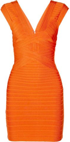 I need to lose enough weight to be able to wear this! Herve Leger Bandage Dress