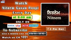 02nd December Schedule of Tata Sky Active Devotion Gurbani Channel..  Watch Channel no 1051 on Tata Sky to listen to Gurbani 24X7.. Give A Missed Call On 09290192901 Facebook - https://www.facebook.com/nirmolakgurbaniofficial/ Twitter - https://twitter.com/GurbaniNirmolak Downlaod The Mobile Application For 24 x 7 free gurbani kirtan - Playstore - https://play.google.com/store/apps/details?id=com.init.nirmolak&hl=en App Store…